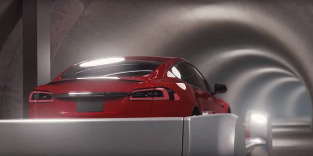 Илон Маск представил новый концепт транспортной инфраструктуры