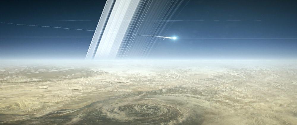 Зонд Cassini переходит к грандиозному финалу своей миссии