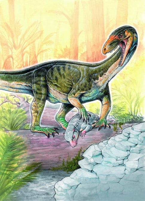 Ученые обнаружили древнего предка динозавров