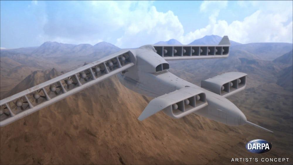 DARPA провела успешные испытания уникального самолета