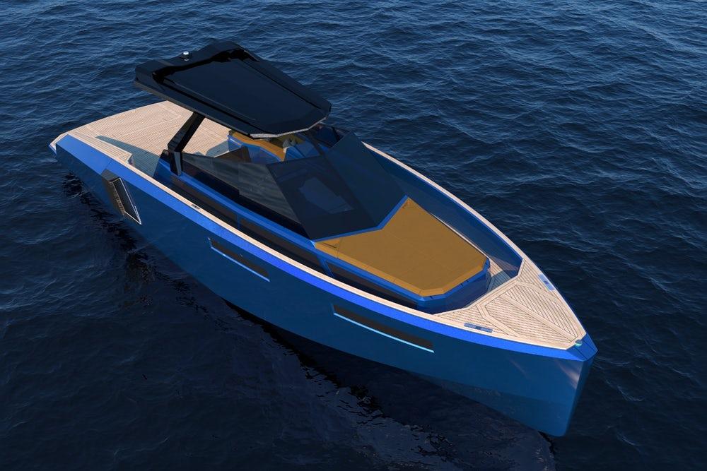 В Италии представлена яхта с раскладной палубой