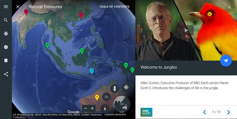 В новых картах Google появятся 3D и VR режимы