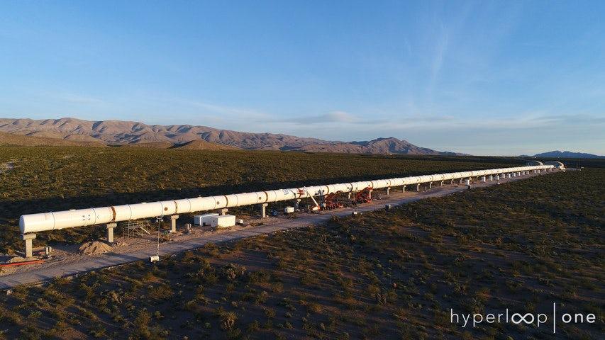 Hyperloop One представила карту маршрутов своей системы