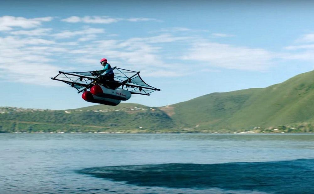 Стартап Ларри Пейджа показал собственный «летающий автомобиль»