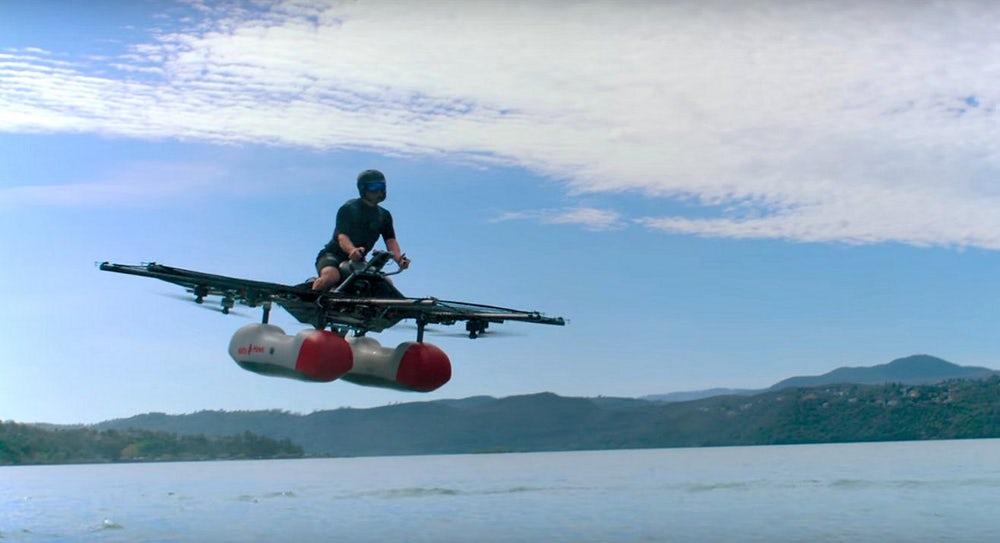 В Силиконовой долине представлен прототип летающего автомобиля
