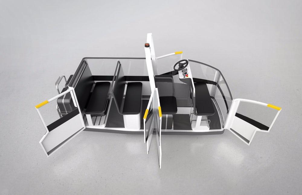 Разработан электромобиль для перевозки людей с ограниченными возможностями
