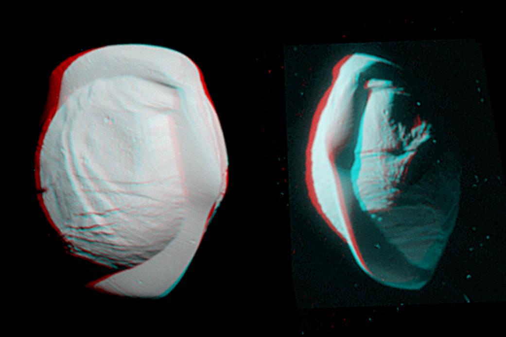 Аппарат Cassini сфотографировал Землю между колец Сатурна