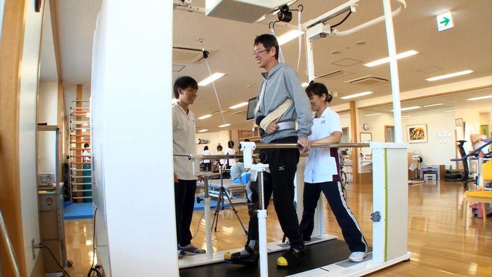 Toyota представила систему для реабилитации пациентов с параличом ног