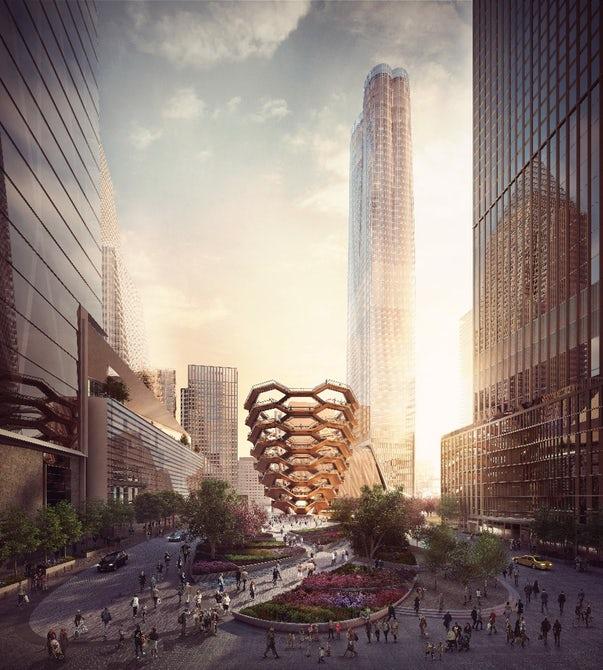 """В Нью-Йорке началось строительство""""бесконечной"""" лестницы"""