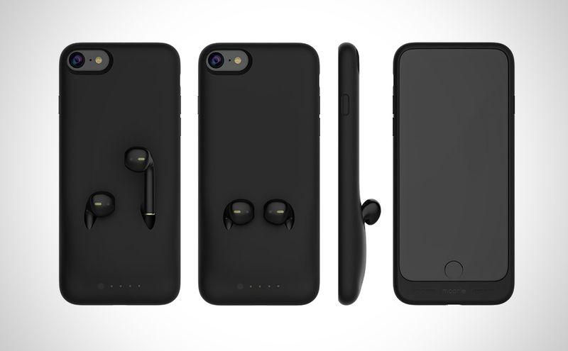 Разработан чехол для хранения наушников от нового iPhone