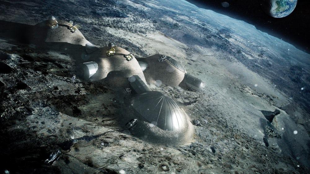 Ученые создали метод 3D-печати с использованием лунного грунта