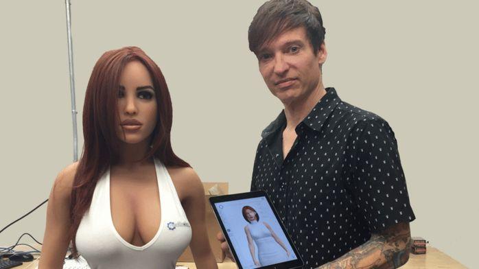 Секс-кукла, которая может говорить— безукоризненнаяли это гармония