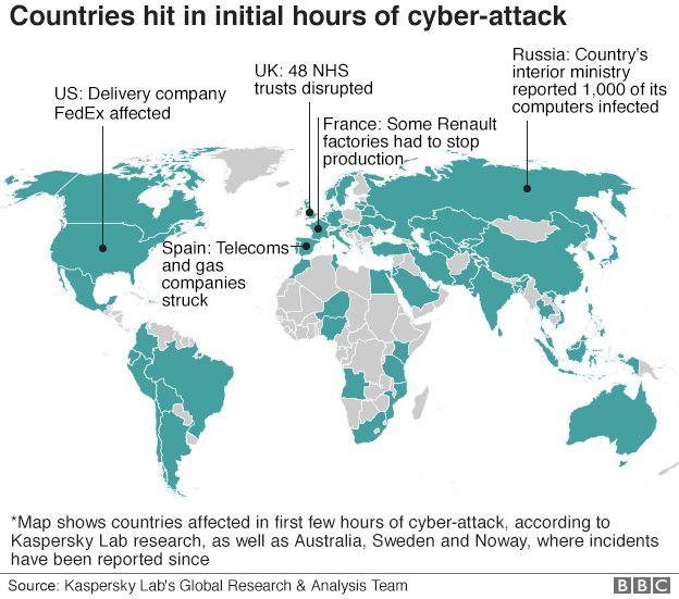 За кибератакой WannaCry может стоять Северная Корея