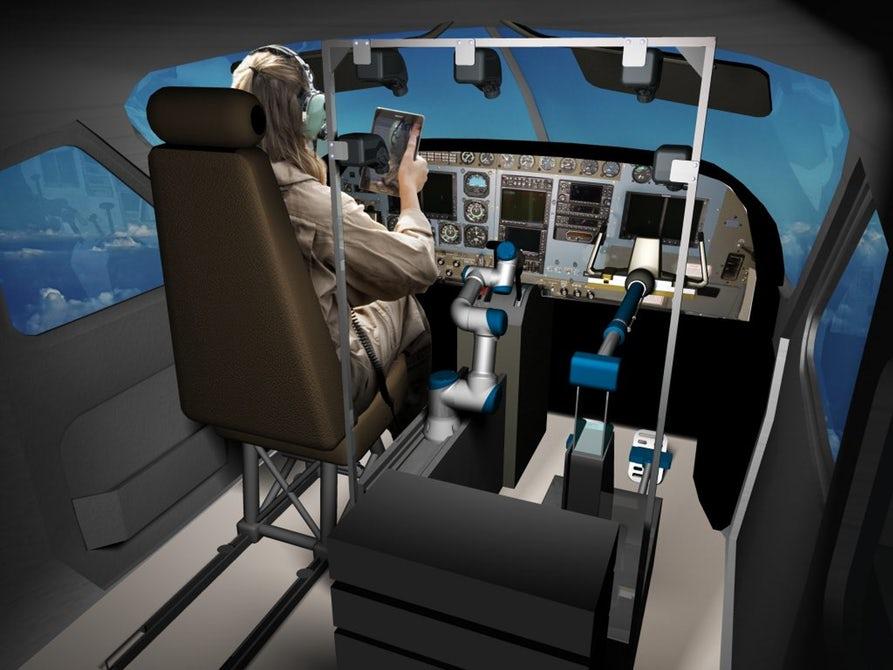 Робот успешно посадил Boeing 737. Пока на авиасимуляторе.