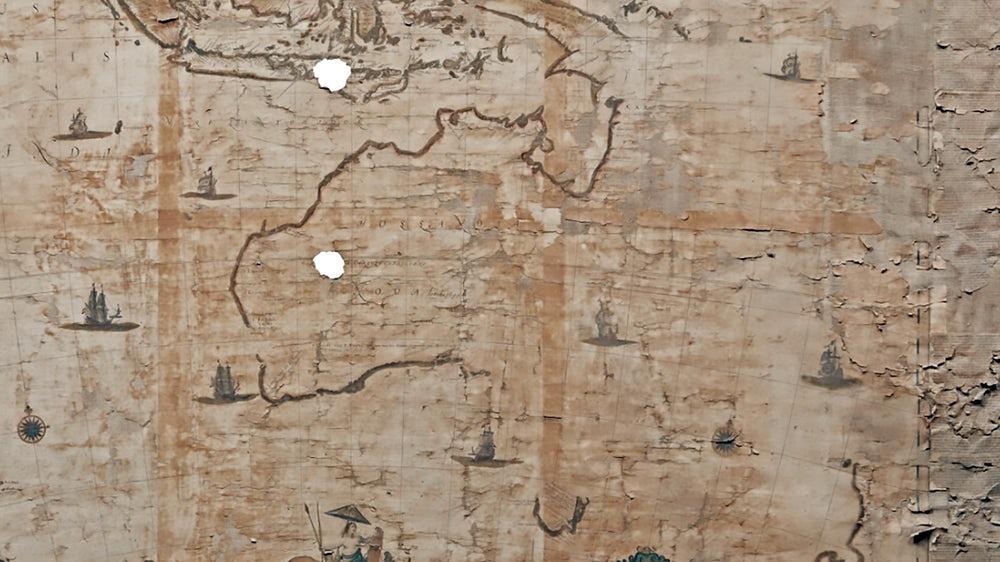 Первая карта Австралии продана почти за четверть миллиона фунтов