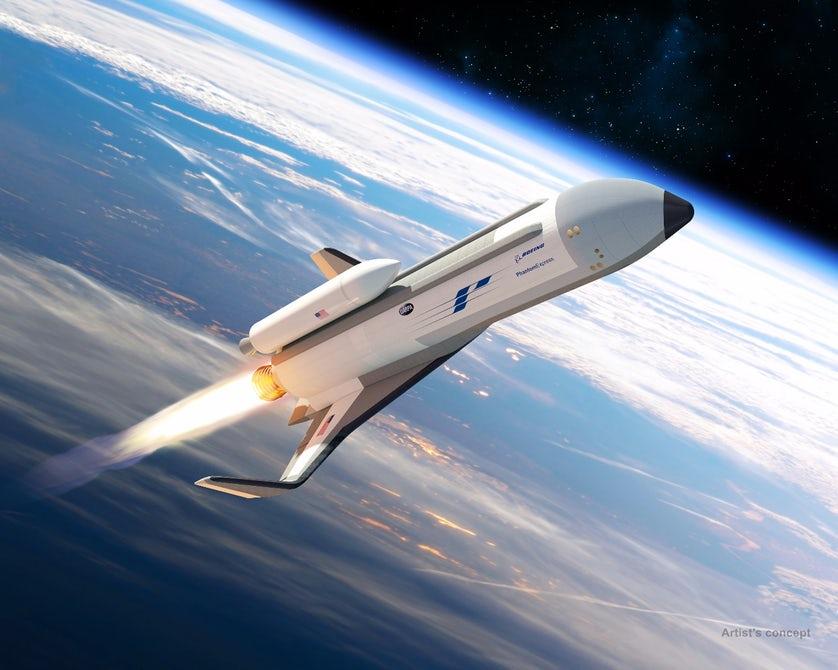 Boeing создаст многоразовый космоплан, способный летать каждый день