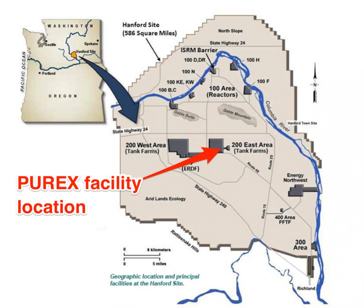 В крупнейшем американском хранилище радиоактивных отходов произошла авария