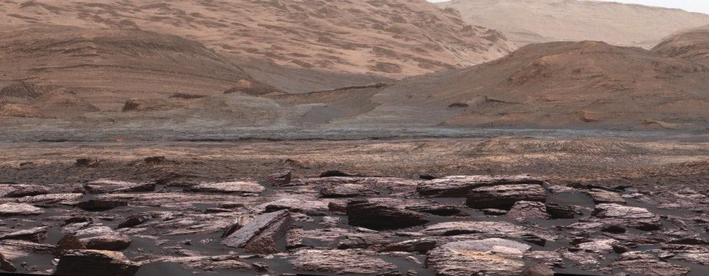 Ученые считают, что на Марсе могла длительное время поддерживаться жизнь