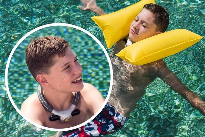 На Kickstarter появились подушки безопасности для пловцов