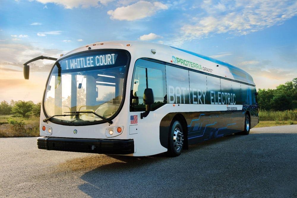 Proterra начала испытания автономного электроавтобуса