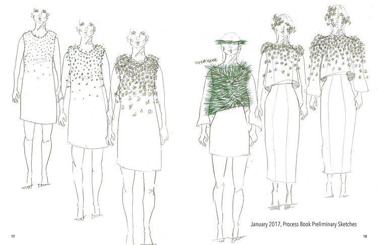Прошел показ эко-одежды из которой растут растения