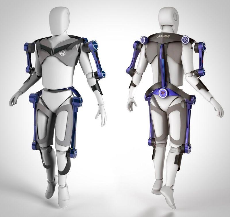 Разработан костюм для тренировок в невесомости
