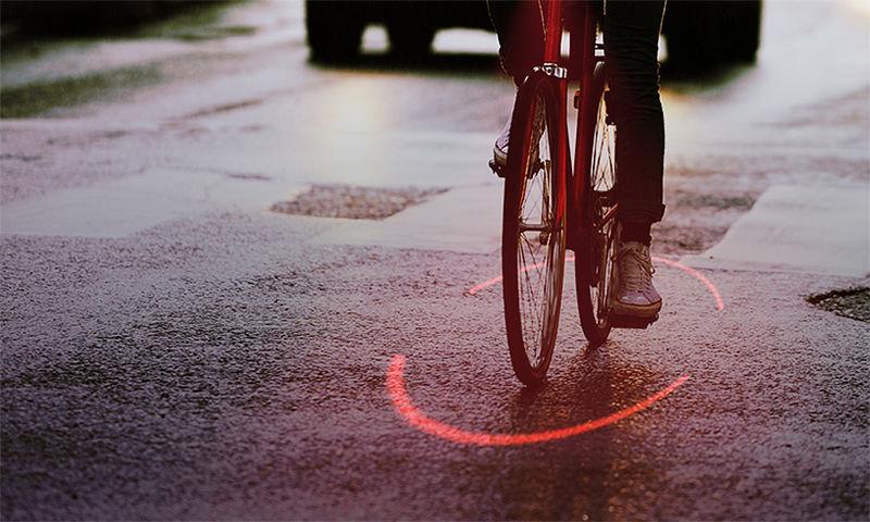 Разработана лазерная система безопасности для велосипедистов