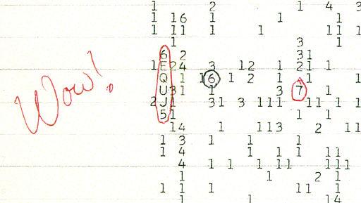Необычный сигнал из космоса WoW расшифровали