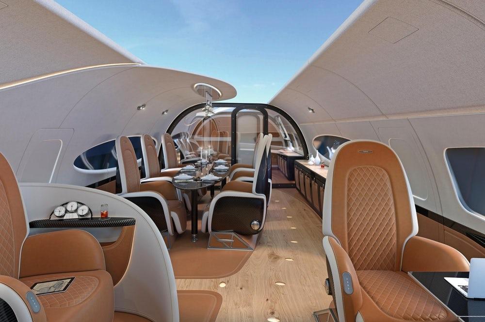 Airbus Corporate Jets и Pagani показали свой новый самолет