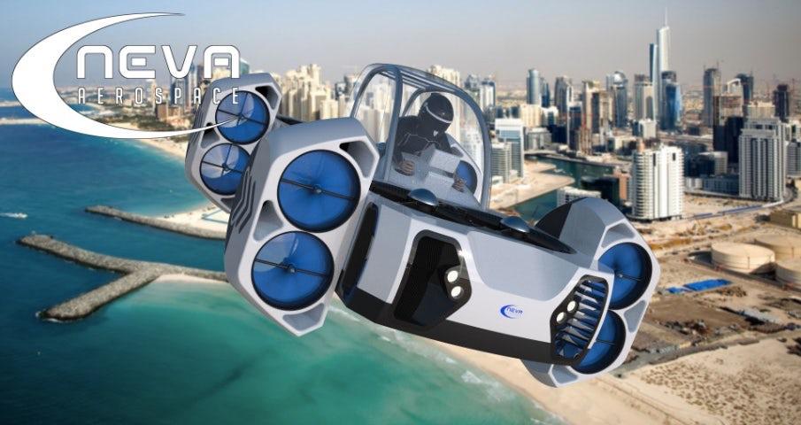 Neva Aerospace представил концепт необычного самолета
