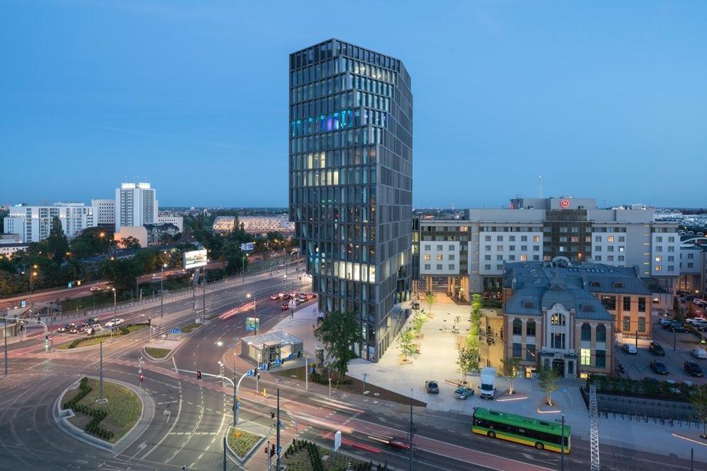 В Польше построили необычную башню