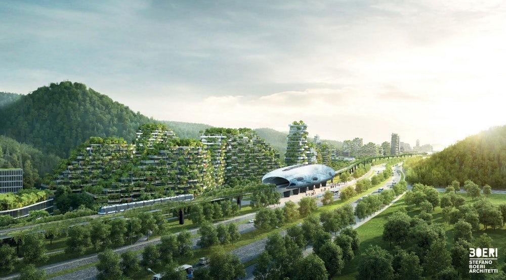 ВКитайской республике построят вертикальный «город-лес»