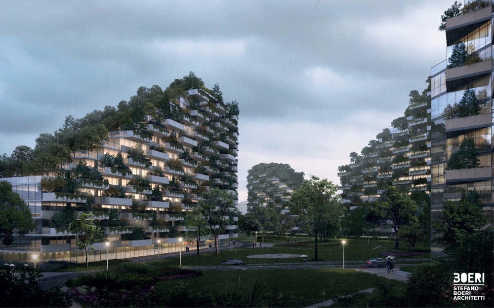 Через три года вкитайской глубинке появится город необыкновенной красоты (фото проекта)