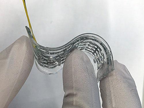 Разработан эффективный гибкий термоэлектрический материал