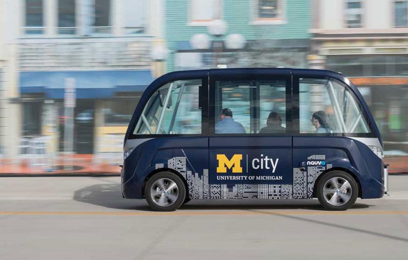 В Мичиганском университете начнут курсировать автономные автобусы