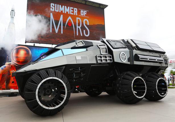 NASA представило новый концепт марсохода