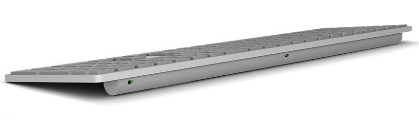 Microsoft представила клавиатуру со сканером отпечатков пальцев