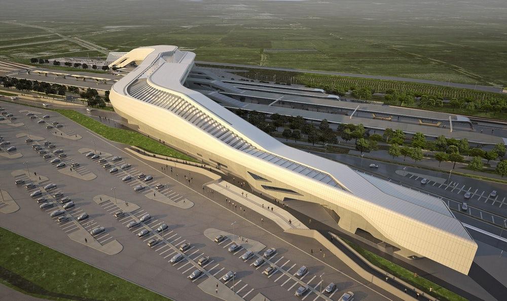 В Италии открыли железнодорожный вокзал по проекту Захи Хадид