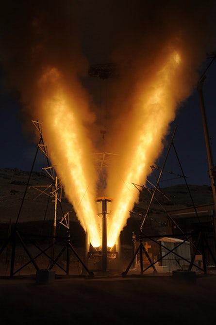 Очередные испытания космического корабля Orion прошли успешно