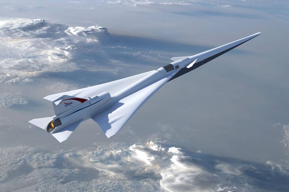 В 2021г NASA испытает 1-ый пассажирский сверхзвуковой самолёт