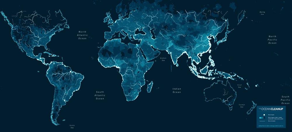 Исследователи рассказали, сколько пластика попадает в океан по рекам