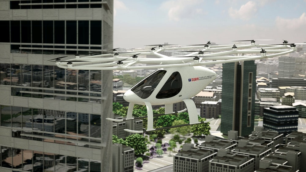 ВДубаи появится воздушная служба такси, летающая наэлектрических вертолётах