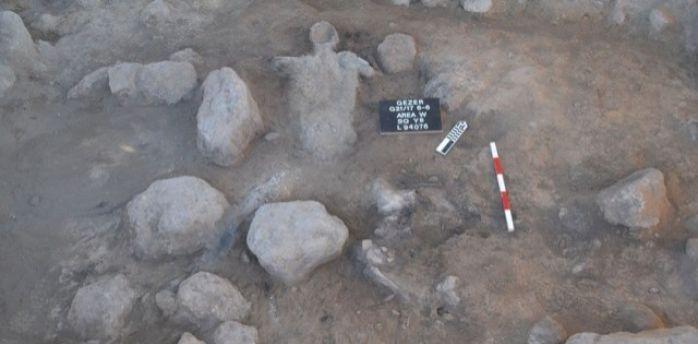 На месте библейского города обнаружены останки людей
