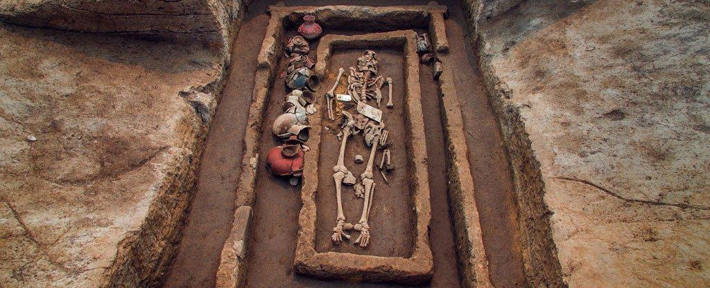 В Китае обнаружены могилы людей-великанов