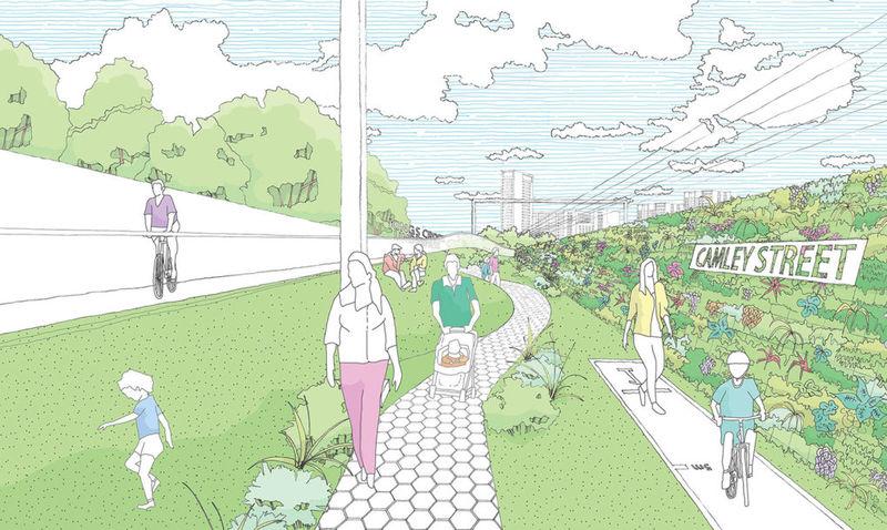 В Лондоне появится воздушный парк