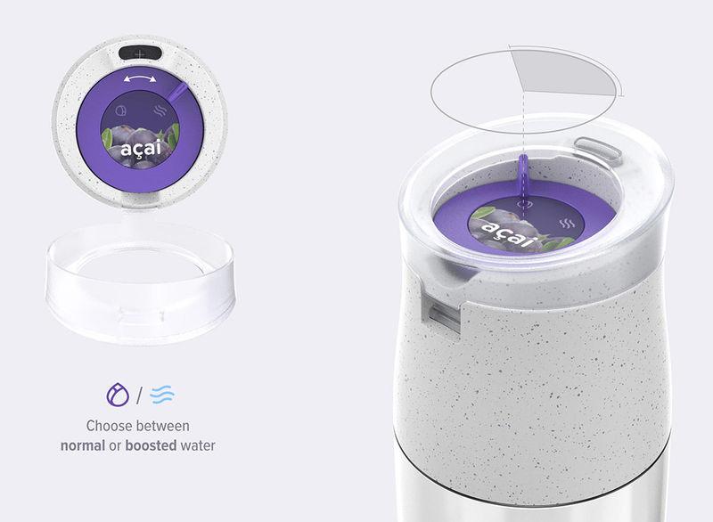 Специально для спортсменов разработана инновационная бутылка для воды