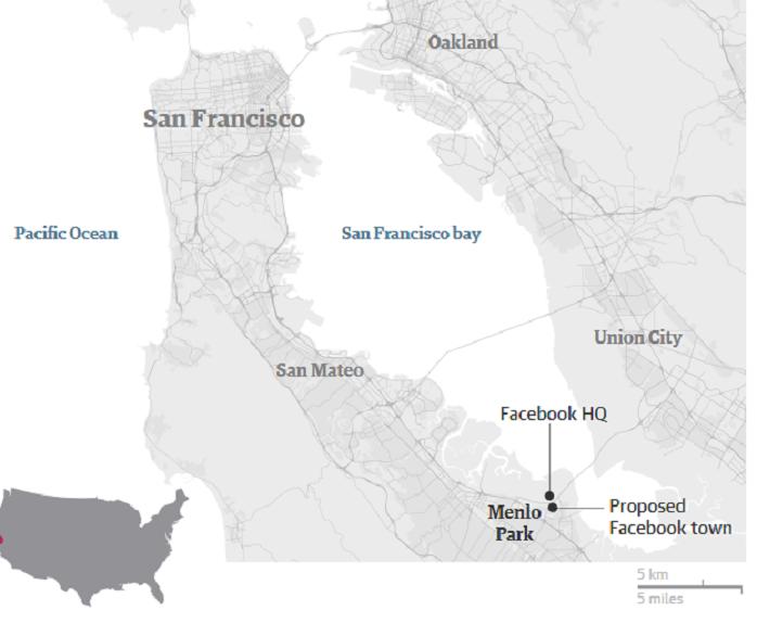 Facebook построит целый поселок для своих работников