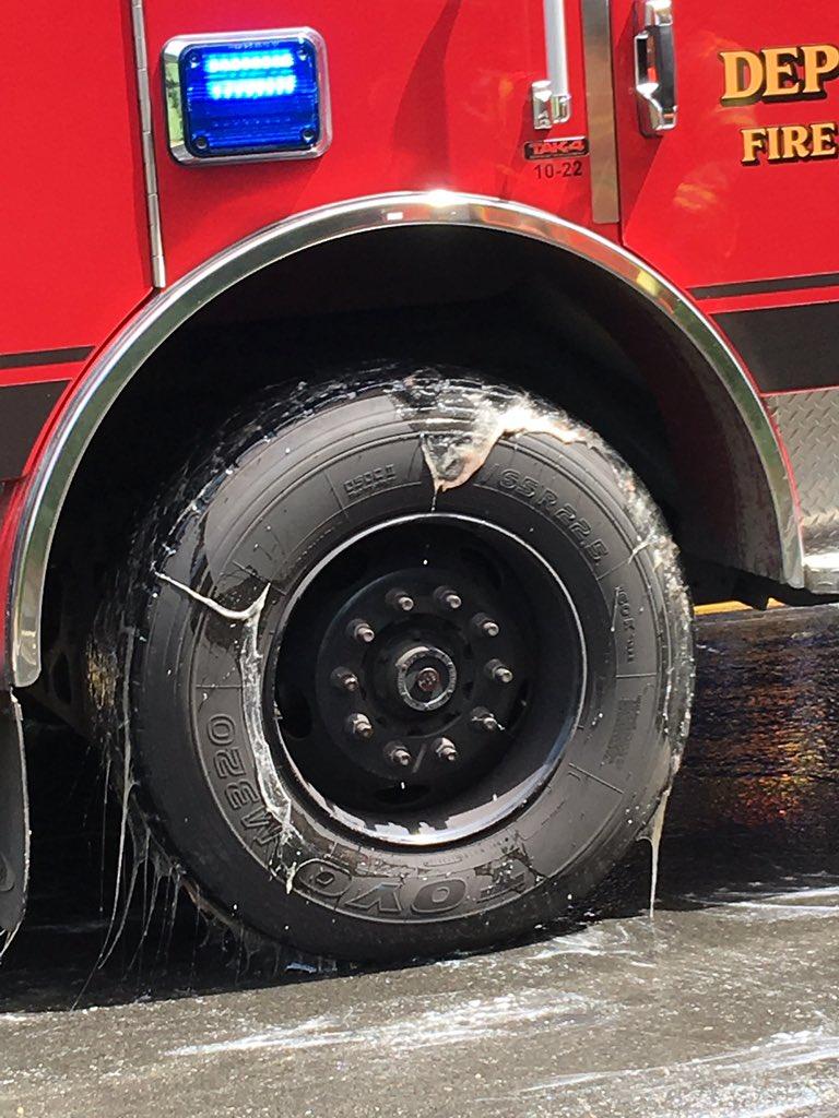 Тонны угрей заблокировали дорогу в американском городке