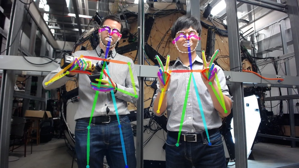 Ученые работают над системой распознавания поз и жестов