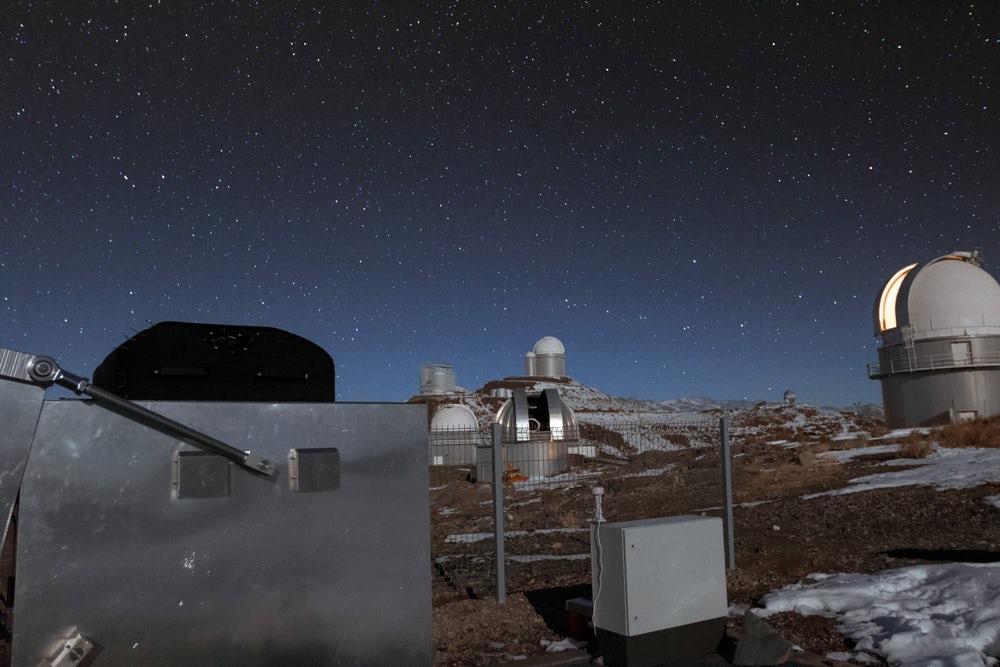В Чили заработала камера для поиска экзопланет